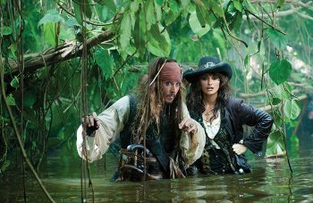 Robbie looks up to Stranger Tides co-star Johnny Depp