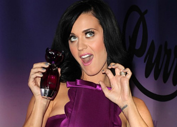 Katy Perry's Purr Perfume