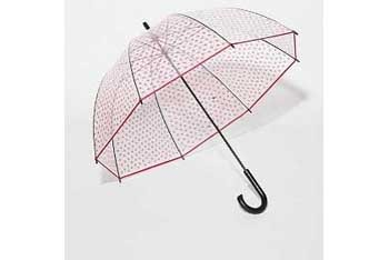 Printed bubble umbrella, $18, at Urban Outfitters