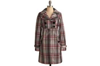 Delight in the Drizzle rain coat, $59.99, at ModCloth.com
