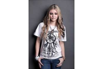 Hand-painted dreamcatcher t-shirt, $24, at www.bysamiiryan.com