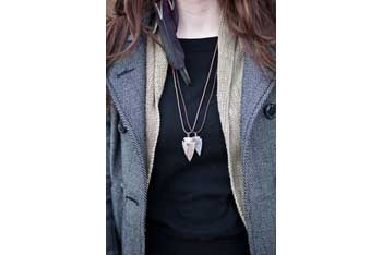 Arrowhead necklace, $5, at www.bysamiiryan.com