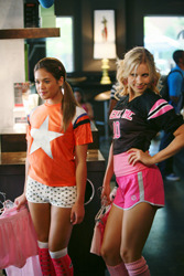 "Nicole (left) in ""Mean Girls 2"