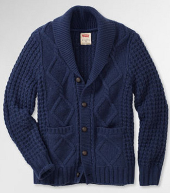 A warm winter cable knit cardigan will make you look hot while warding off the cold