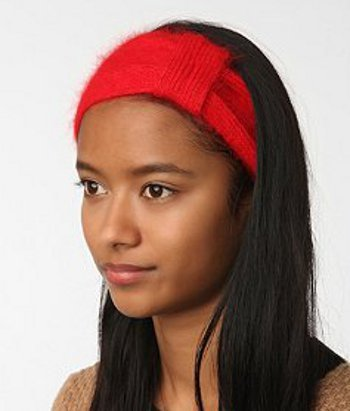 Knitted Headband,  $24 at Urban Outfitters