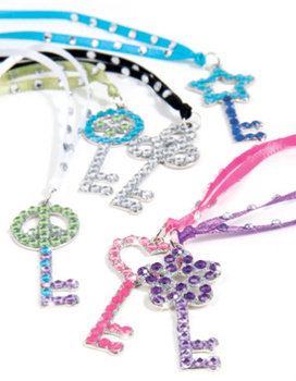Style Me Up: Dazzling Key Pendants