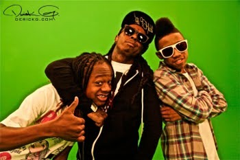 Young Money Family: Lil Chuckee, Lil Wayne and Lil Twist!