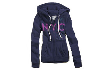 Fleece NYC hoodie, $39.50, at AMERICAN EAGLE