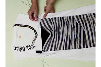 How To: Make Your Own Embellished T-Shirt