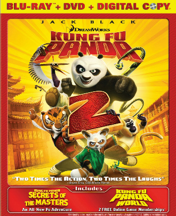 Kung Fu Panda 2 on Blu-Ray   DVD   Digital Copy Combo Pack