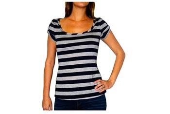 Nautical roll-cuff teeshirt, $10, at WalMart.com