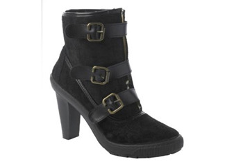 Shealing buckle heel boots, $50, at NewLook.com