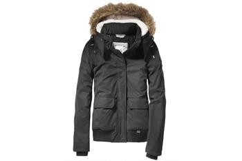 Bomber jacket with hood, $50, at Garage Clothing