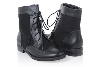 Woven Oxford boots, $28.80, at Forever21.com
