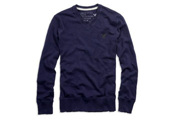 American Eagle, AE V-Neck Sweater, $39.50