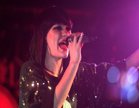 Jessie J on stage!