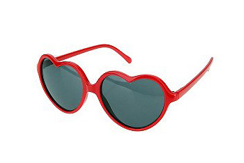 Sweet Heart sunglasses, $14, at Urban Outfitters