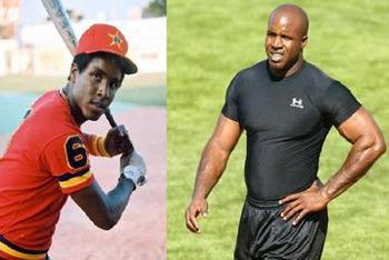 Barry Bonds using steroids