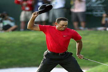 Tiger Woods is losing it