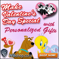WB Personalized Valentine's Day Gifts