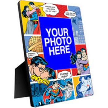 Superman Valentine's Day Custom Photo Panel