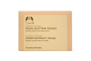 Natural Powder Facial Blotting Tissues