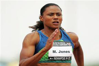 Marion Jones was fast... fast in crime