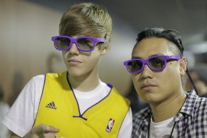 Justin Bieber and Jon Chu