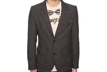 Tweed Herringbone Blazer, Forever 21, $42.90