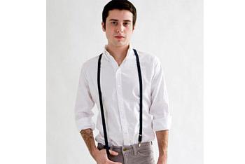 Suspenders, American Apparel, $18