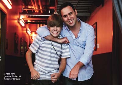 Justin Bieber and Scotter Braun