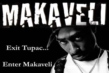 Makaveli named after philosopher