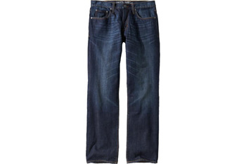 Straight leg distressed jeans, $39, at Old Navy