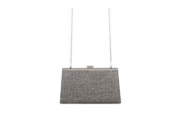 Metallic basketweave clutch, $12.80, at Forever21.com