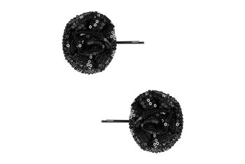 Sequinned rosette bobby pins, $2.50, at Forever21.com