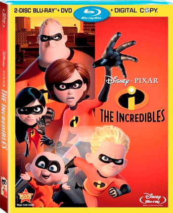 The Incredibles 2-Disc Blu-Ray   DVD