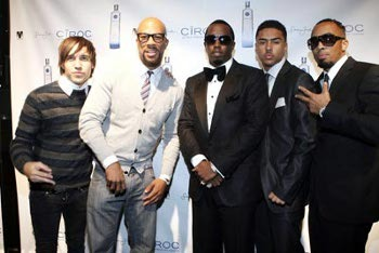 Pete Wentz, Common , P. Diddy and Quincy
