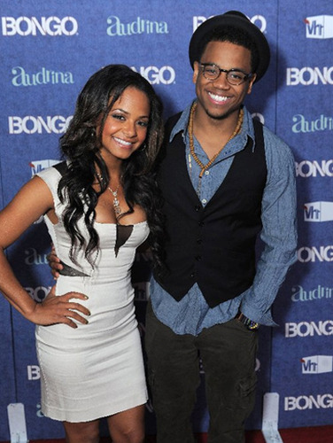 Christina Milan and Tristan Wilds at the Audrina Patridge Reality TV Launch Party