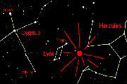 Preview lyrid meteors radiant sm pre