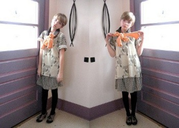 Double Vision: Fashion shot with two Tavis!