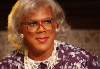 "Tyler playing ""Madea"""