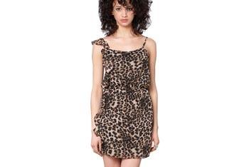 Wild side leopard dress, $44, FredFlare.com