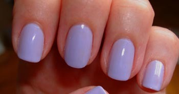 Try a lilac nail polish for spring!