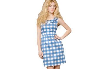 Gingham Peggy dress, $64, FredFlare.com