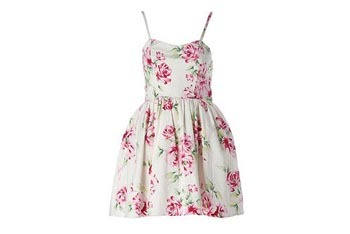 Pretty rose prom dress, $30, NewLook.com