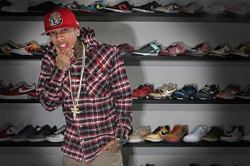 """Talking to Travis Macoy in the sneaker aisle """"kick"""" started Tyga's career!"""