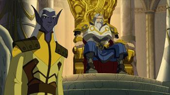 Algrin and Odin