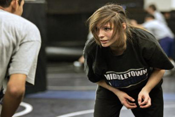 Girls wrestling is getting popular