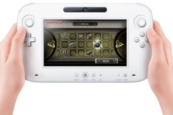Wii U controller with Touch Screen