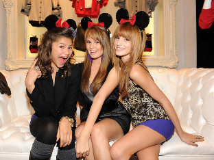 Disney Darlings: Zendaya, Debby and Bella!